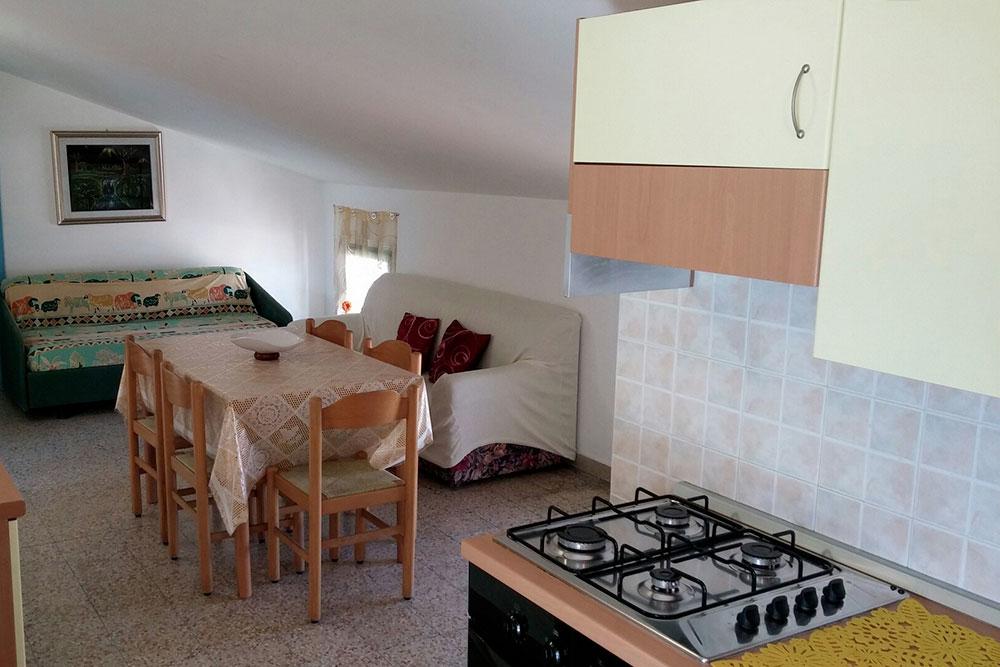 Palazzina Olimpia appartamento 6 Cucina